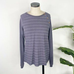 The North Face Womens Long Sleeve Shirt Top Large